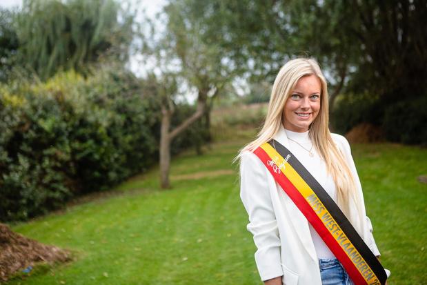 """Celest Decaestecker geeft kroontje van Miss West-Vlaanderen door: """"Nu fulltime model worden"""""""
