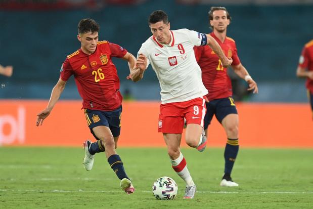 Spanje speelt opnieuw gelijk: 1-1 tegen Polen