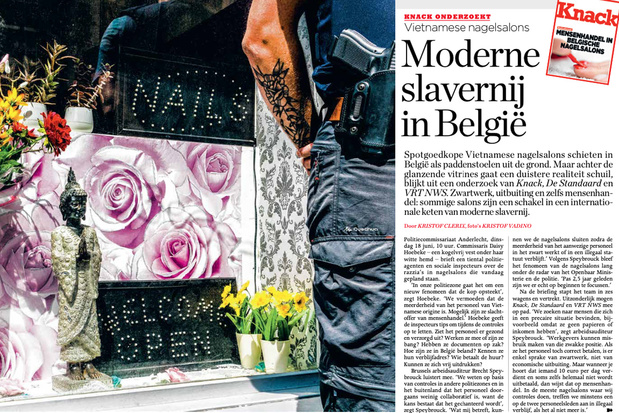 Knack wint Belfius-persprijs voor onderzoek naar mensenhandel