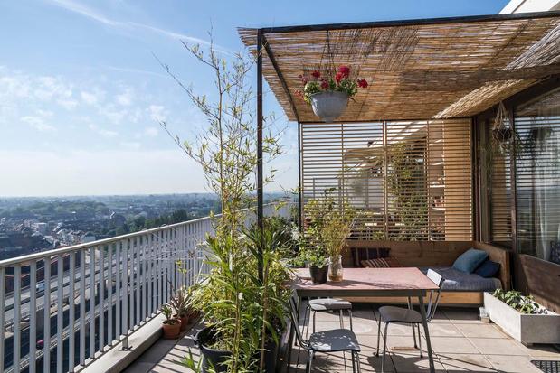 Om je ogen uit te kijken: zeven balkons en terrassen waar het altijd zomert