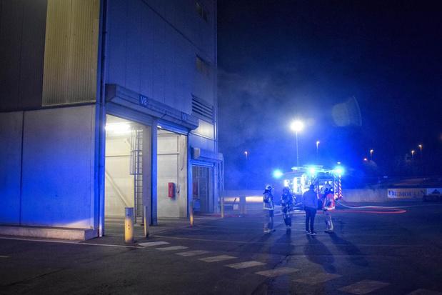 Brand veroorzaakt technische schade bij firma Dumoulin