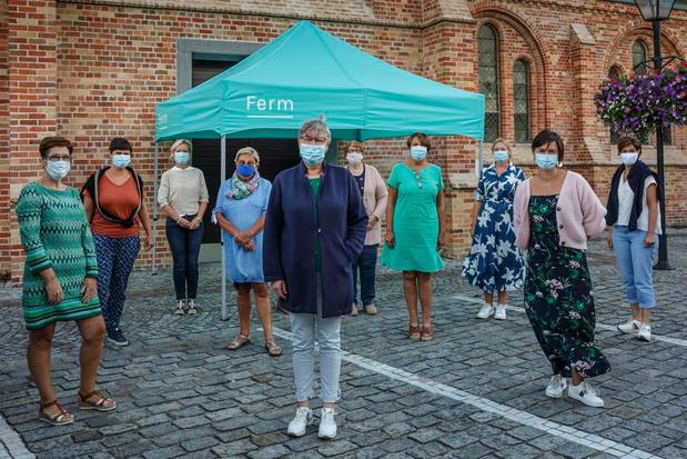 Ferm organiseert boerenmarkt op Pleintje in Rollegem-Kapelle
