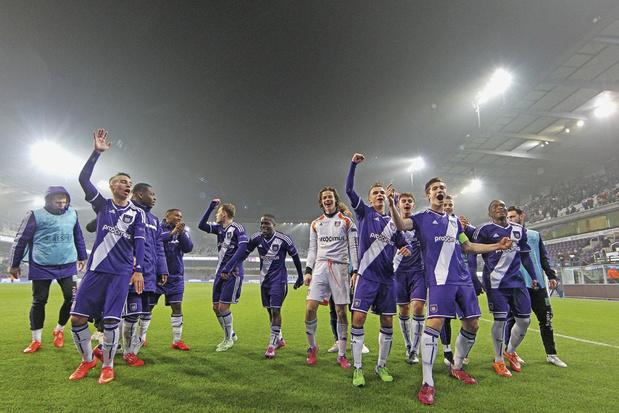 Où est passée la génération Youth League d'Anderlecht?