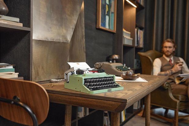 Une machine à écrire signée Lego