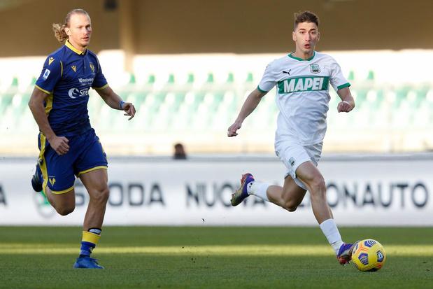 Ex-Anderlechtspeler Filip Djuricic maakt furore bij US Sassuolo