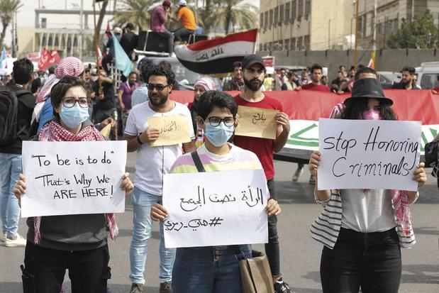 En Irak, la contestation à l'épreuve du virus