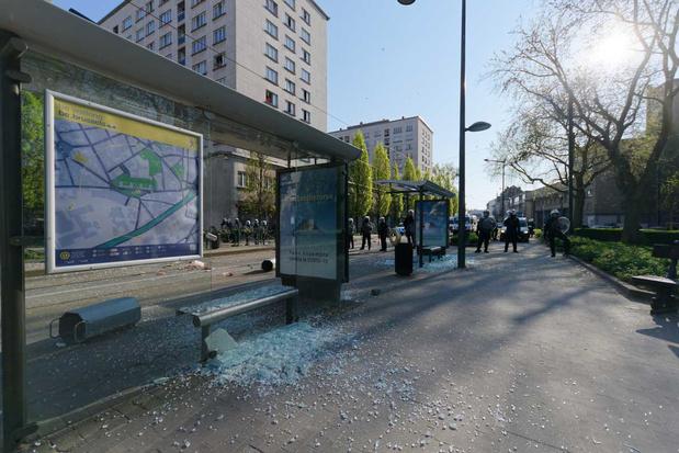 176 pv's opgesteld na rellen in Anderlecht