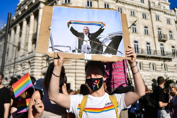 'Na Hongaarse antihomowet: hoog tijd dat de EU een lijn in het zand trekt'