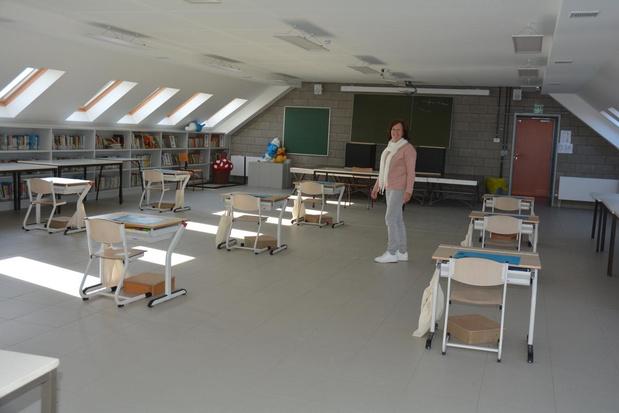 Heropening Mandelbloesem en Ginsteschool in Oostrozebeke zorgt voor puzzelwerk