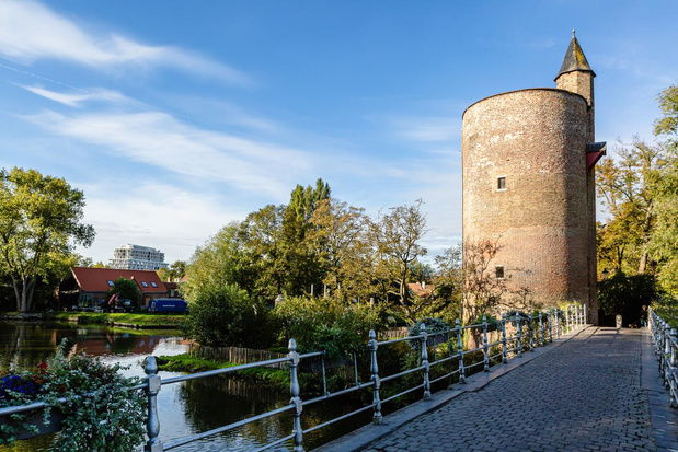 Werelderfgoed is volgens SOS Brugge in gevaar wegens hoogbouw aan het station