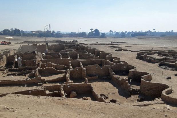 3400 jaar oude 'verloren stad' ontdekt in Luxor: 'Pompeï van Egypte'