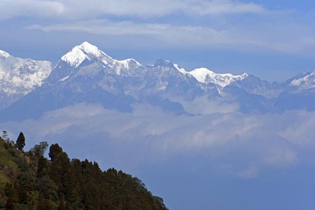 Himalaya voor het eerst in dertig jaar zichtbaar door schonere lucht