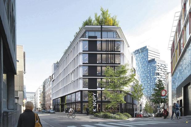 Le bureau mixte arrive dans le quartier européen à Bruxelles