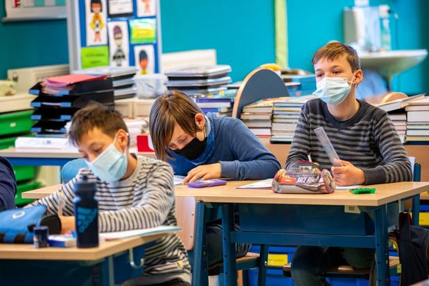 Meeste Vlaamse leerlingen kunnen op 1 september zonder mondmasker in de klas zitten