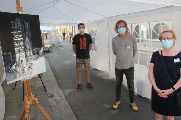 Coronaveilige Dag van de Mobiliteit in Ieper met artistiek Vern-Event