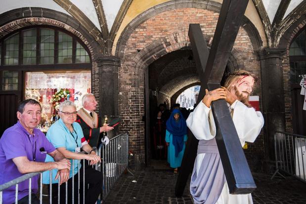 Heilig Bloedprocessie Brugge afgelast