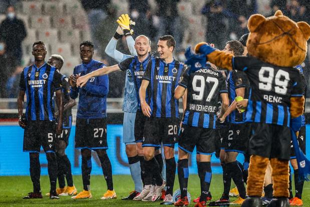 Club Brugge kent donderdagavond zijn drie tegenstanders in groepsfase Champions League