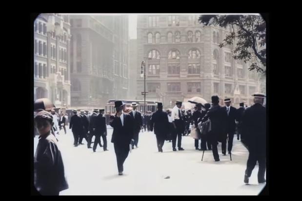 Video: het dagelijkse leven in New York City in 1911