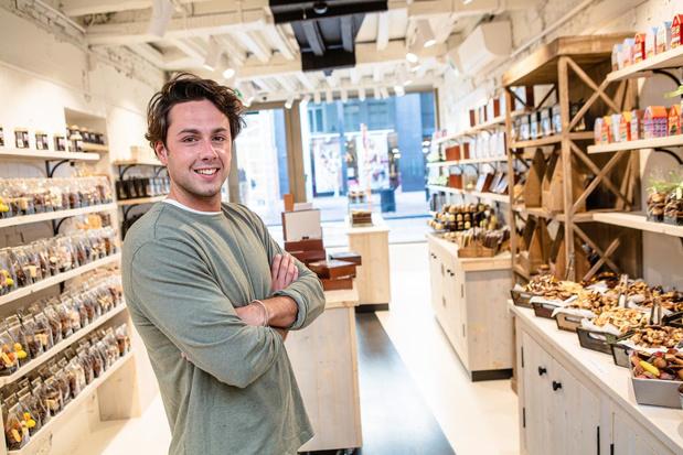Sebastian (25) start derde chocoladewinkel in Brugse binnenstad