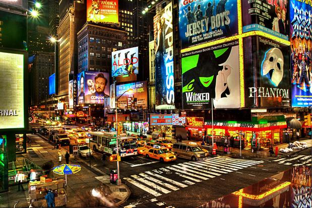 Broadway blijft dicht tot juni 2021