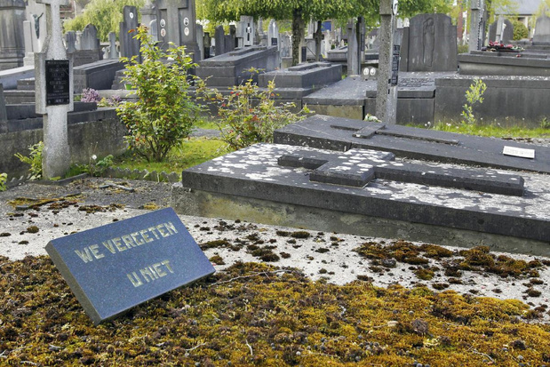 Peter of meter worden van een Torhouts grafmonument