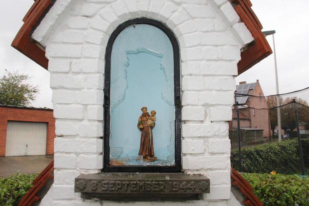 Buurt start inzamelactie nadat beeldje uit kapel werd gestolen