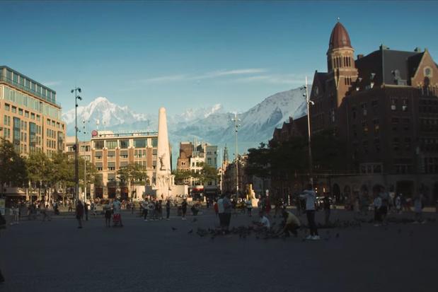 Video: zo ziet Amsterdam eruit wanneer het in een berglandschap ligt