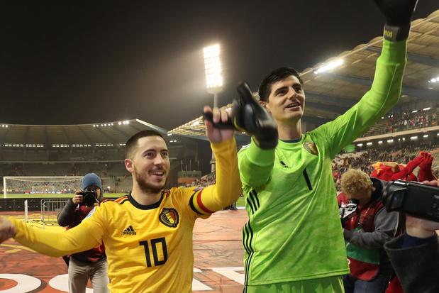 Thibaut Courtois: 'Eden Hazard zal binnenkort ontploffen'