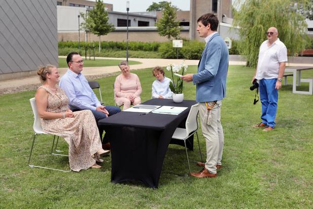 Torhout kiest voor huwelijken in het stadspark