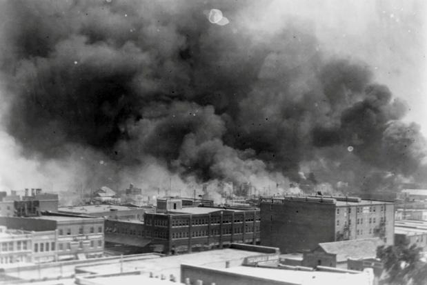 Biden en stad Tulsa herdenken na 100 jaar massamoord op zwarte Amerikanen