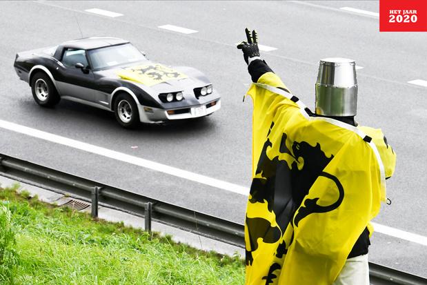 De stunt van het Vlaams Belang: 'Die autokaravaan was een manifestatie van kaakslagnationalisme'