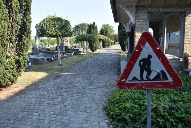 Vanaf 17 augustus ingrijpende werken op Ieperse begraafplaats
