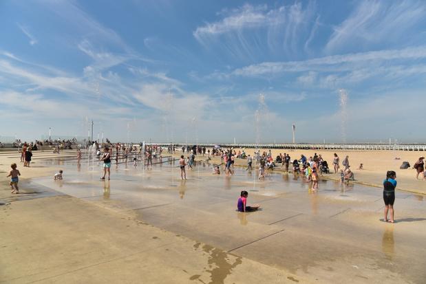 Reserveren voor het strand in Oostende dan toch niet nodig