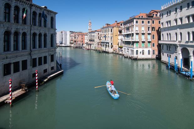 Satellietfoto's laten zien hoe Venetië door de coronacrisis ten goede is veranderd