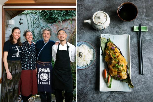 Generatiewissel bij Izumi in Anwerpen: chef-kok Ed Balke geeft fakkel door