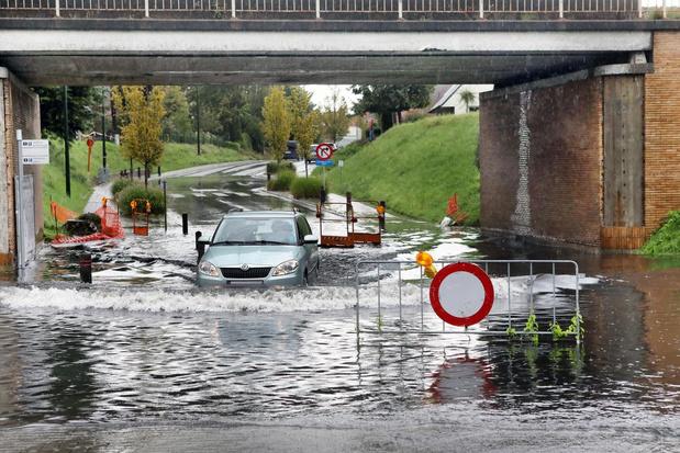 Alweer zware waterellende na wolkbreuk in Torhout