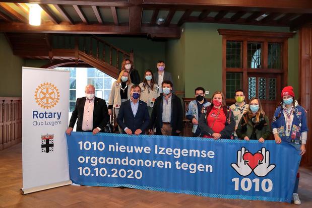 519 Izegemnaars registreren zich als orgaandonor
