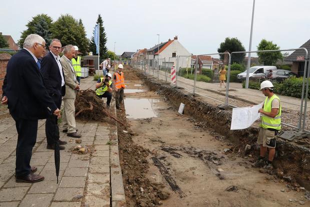 Minister Diependaele komt kijken naar unieke vondsten uit Eerste Wereldoorlog