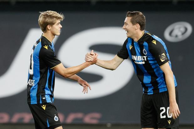 Club Brugge walst over Zulte Waregem