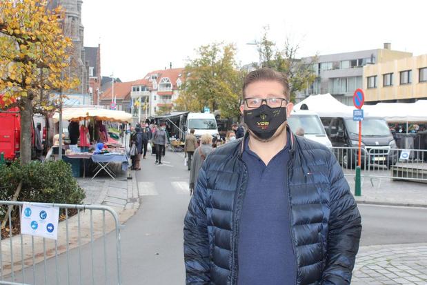 Waregem geeft marktkramers fikse korting