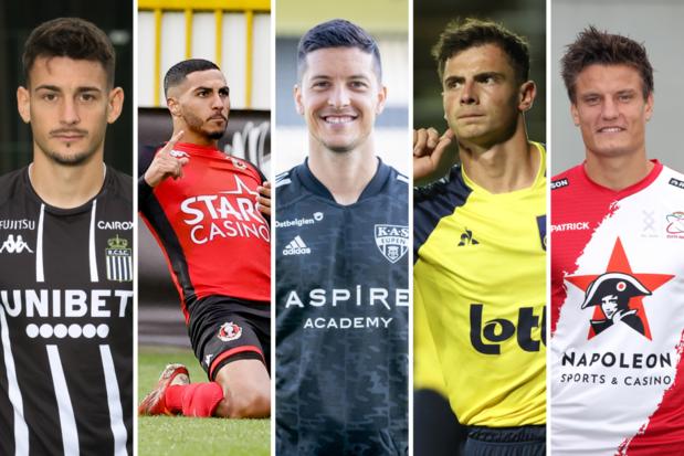 Jupiler Pro League: kies uw speler en trainer van de maand augustus