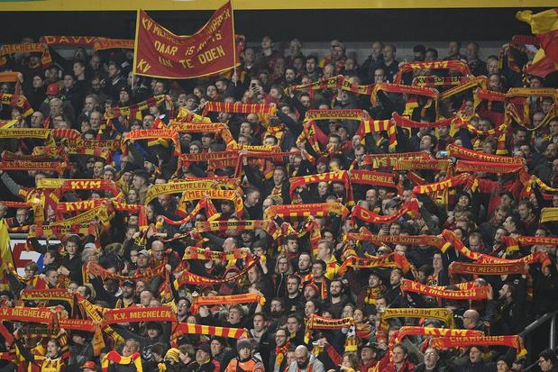 KV Mechelen-fans geven toeschouwersgemiddelde van Jupiler Pro League een boost