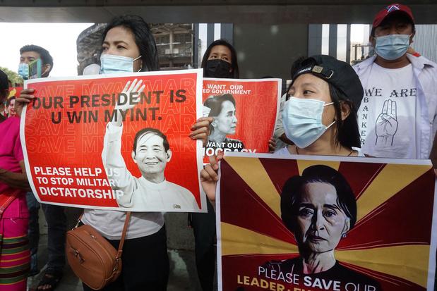 Staatsgreep Myanmar: Honderden mensen opgepakt, VN-ambassadeur ontslagen