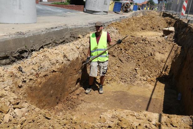 Archeologisch onderzoek legt werken in Wijtschate stil
