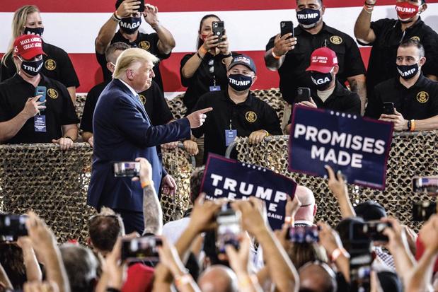 Zal Trump de verkiezingsuitslag in november aanvechten?