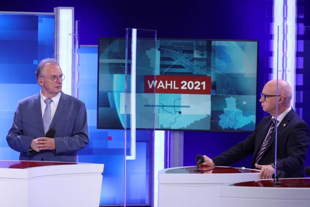 CDU wint verkiezingen in Saksen-Anhalt met grote voorsprong op AfD