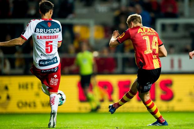 KV Kortrijk wint met 1-2 van KV Mechelen