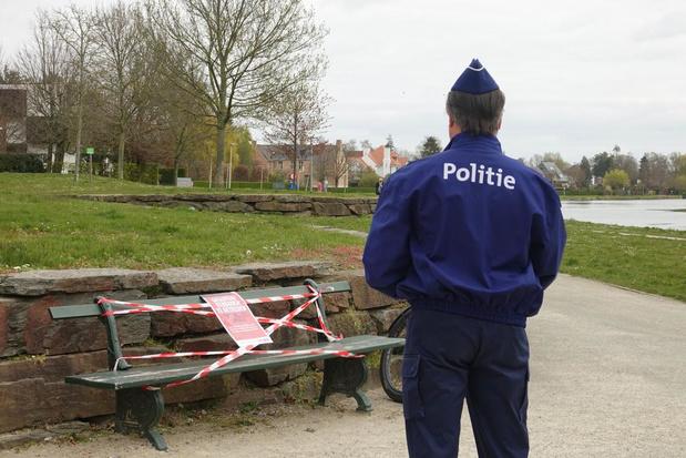 Kortrijkse politie moet elke dag 27 coronaboetes uitdelen