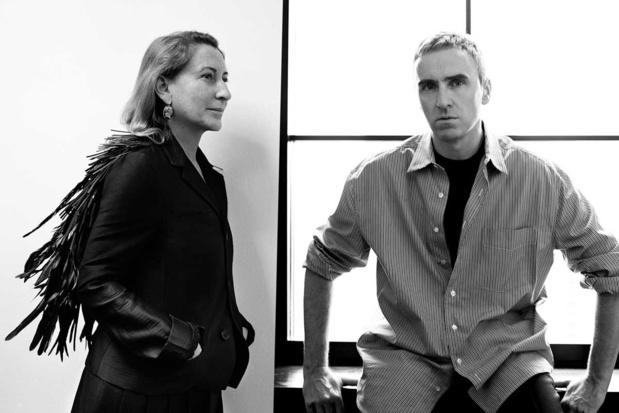 Raf Simons vormt tandem met Miuccia Prada