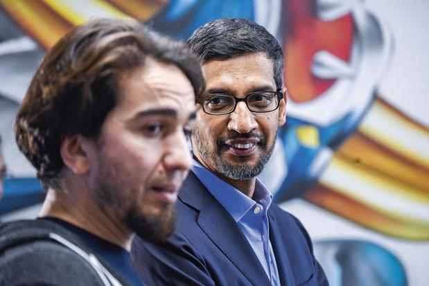 Google-topman bezoekt Molengeek